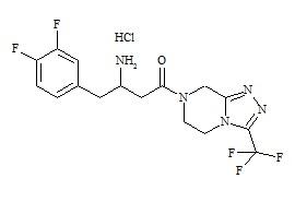 Sitagliptin impurity H HCl