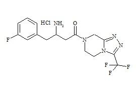 Sitagliptin impurity P HCl