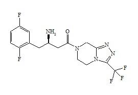 Sitagliptin Defluoro Impurity 6