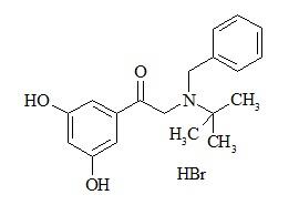 Terbutaline Impurity D (2-[benzyl-(1,1-dimethylethyl) amino]-1-(3,5-dihydroxyphenyl) ethanone) HBr