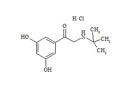 Terbutaline Impurity C (Terbutalone HCl)