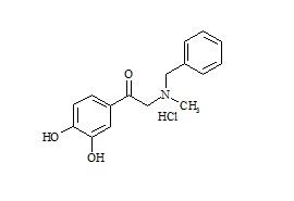Terbutaline Impurity HCl (2-(Benzylmethylamino)-3',4'-dihydroxyacetophenone HCl)