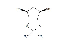 Ticagrelor Related Compound 3 ((+/-)-6-Aminotetrahydro-2,2-Dimethyl-4H-Cyclopenta-1.3-dioxol-4-ol)