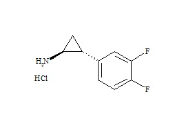 Ticagrelor Related Compound 6 HCl ((1S,2R)-2-(3,4-Difluorophenyl)cyclopropanamine HCl)
