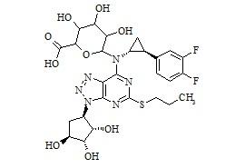 AR-C124910XX-N-Glucuronide