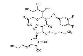 Ticagrelor N-Glucuronide
