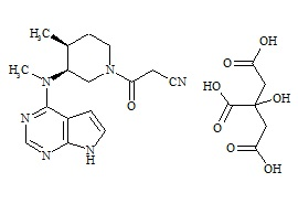 Tofacitinib Impurity C Citrate
