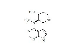 Tofacitinib Impurity (N-Des-(2-Cyanide-acetyl)-(3S,4R))