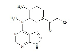 Tofacitinib Impurity C (Racimic Mixture)