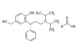 (R)-5-Hydroxymethyl Tolterodine Formate