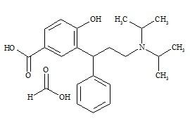 5-Carboxy Tolterodine Formate