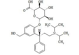 5-Hydroxymethyl Tolterodine Glucuronide