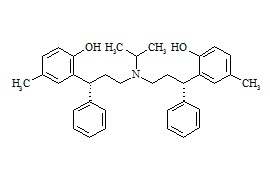 Tolterodine Dimer Impurity (Mixture of Diastereomers)