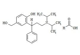 5-Hydroxymethyl rac-Tolterodine Formate