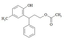 Tolterodine Diol Acetate Impurity