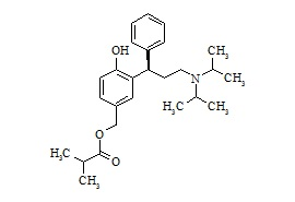 Tolterodine Impurity ((R)-5-Isopropylcarbonyloxymethyl Tolterodine)