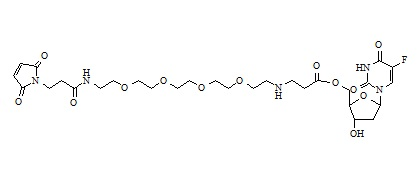 5'-(3-MAL-PEG2-aminobutanoate)-floxuridine