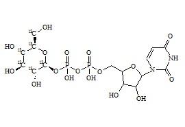 Uridine Diphosphate Glucose-13C6 (UDP-Glucose-13C6)