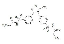 Valdecoxib Disulfonamide Impurity (Parecoxib Impurity 1)