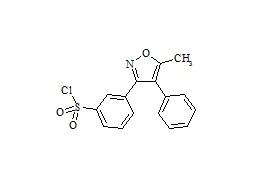 Valdecoxib 3'-Sulfonyl Chloride Impurity