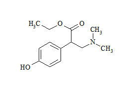 Ethyl 3-(dimethylamino)-2-(4-hydroxyphenyl)propionate