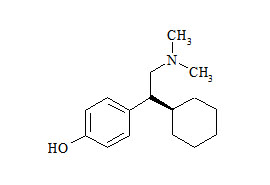 Venlafaxine Related Compound (4-(1-Cyclohexyl-2-(dimethylamino)ethyl)phenol)