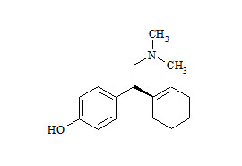 Venlafaxine Related Compound (4-(1-Cyclohex-1-en-1-yl)-2-(dimethylamino)ethyl)phenol)