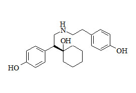 Venlafaxine Related Compound (S-4-(1-(1-Hydroxycyclohexyl)-2-((4-hydroxyphenylethyl) amino) ethyl) phenol)