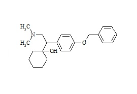 Venlafaxine Impurity (1-[1-(4-Benzyloxyphenyl)-2-dimethylaminoethyl]-cyclohexanol)
