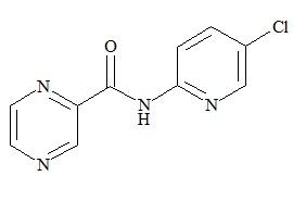 Zopiclone impurity (5-(Chloropyridine-2-yl-carbamoyl)pyrazine)