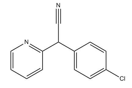 Alpha-(4-chlorophenyl)pyridine-2-acetonitrile