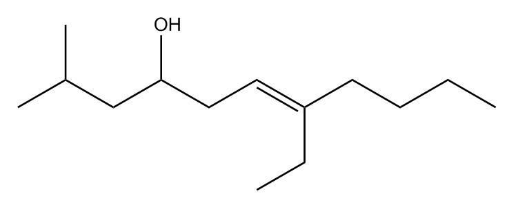 (E)-7-ethyl-2-methylundec-6-en-4-ol