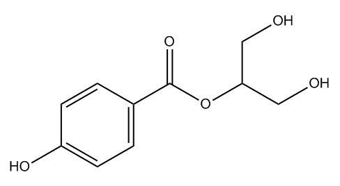 1,3-dihydroxypropan-2-yl 4-hydroxybenzoate