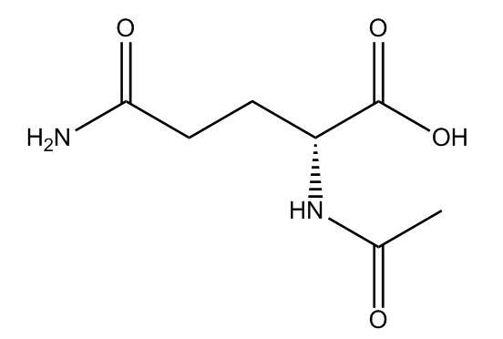acetyl-D-glutamine