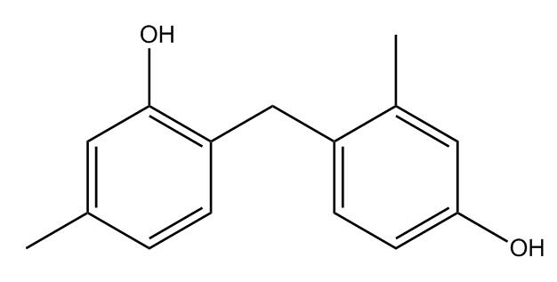 2-(4-hydroxy-2-methylbenzyl)-5-methylphenol