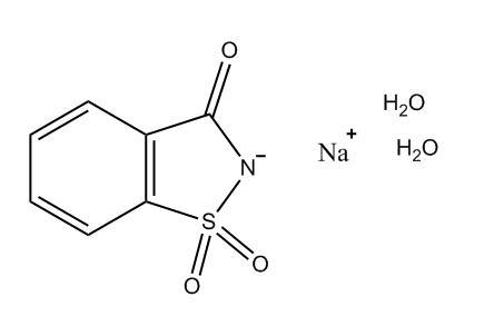 Saccharin Sodium Dihydrate